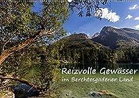 Reizvolle Gewaesser im Berchtesgadener Land (Wandkalender 2022 DIN A2 quer): Dieser Kalender nimmt Sie mit zu den verschiedenen Seen im Berchtesgadener Land (Monatskalender, 14 Seiten )