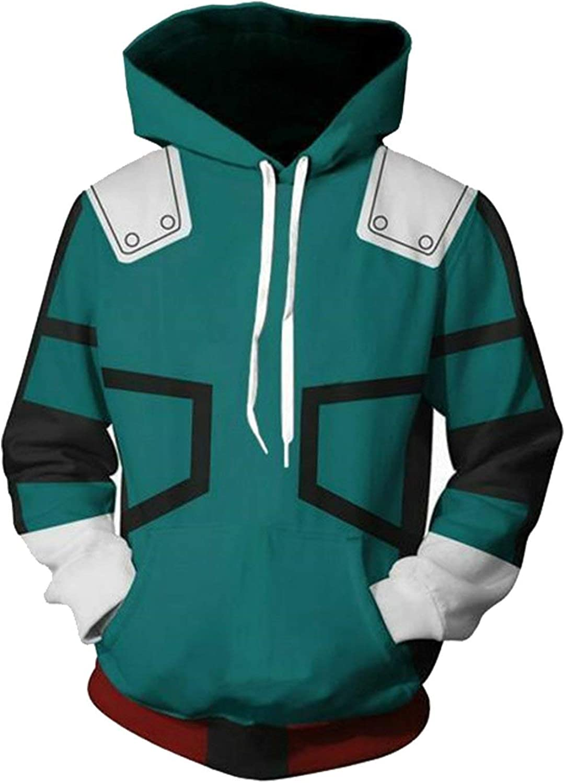 My Hero Academia Deku Midoriya Izuku Hoodies Sweatshirt Pullover Jacket Coat Top