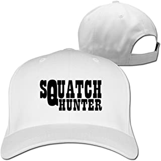 Squatch Hunter Trendy Hip Hop Adult Unisex Cap