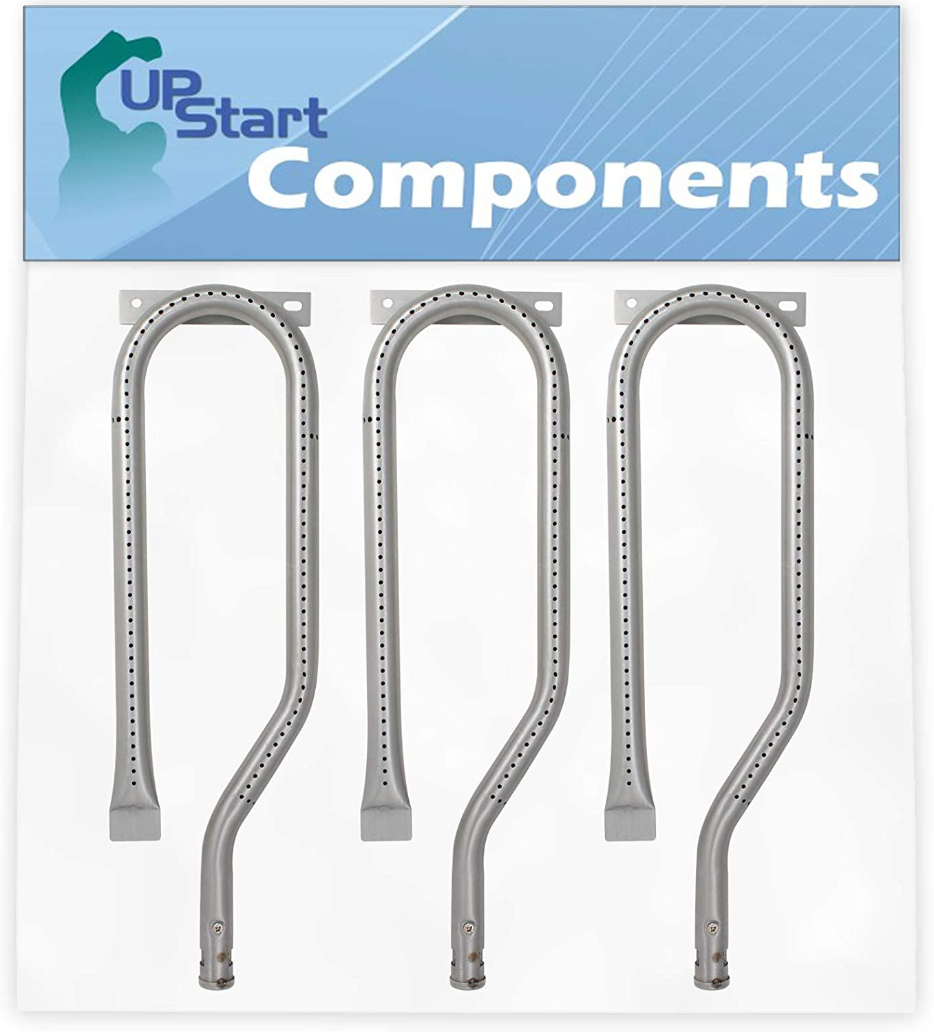 UpStart Lowest price challenge Components 3-Pack BBQ Gas Omaha Mall Tube Grill Burner Replacement