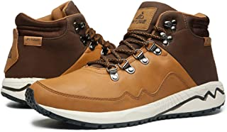 Men Boots Outdoor Casual Hiking Boots Comfortable Work Ankle Lace-up Shoes