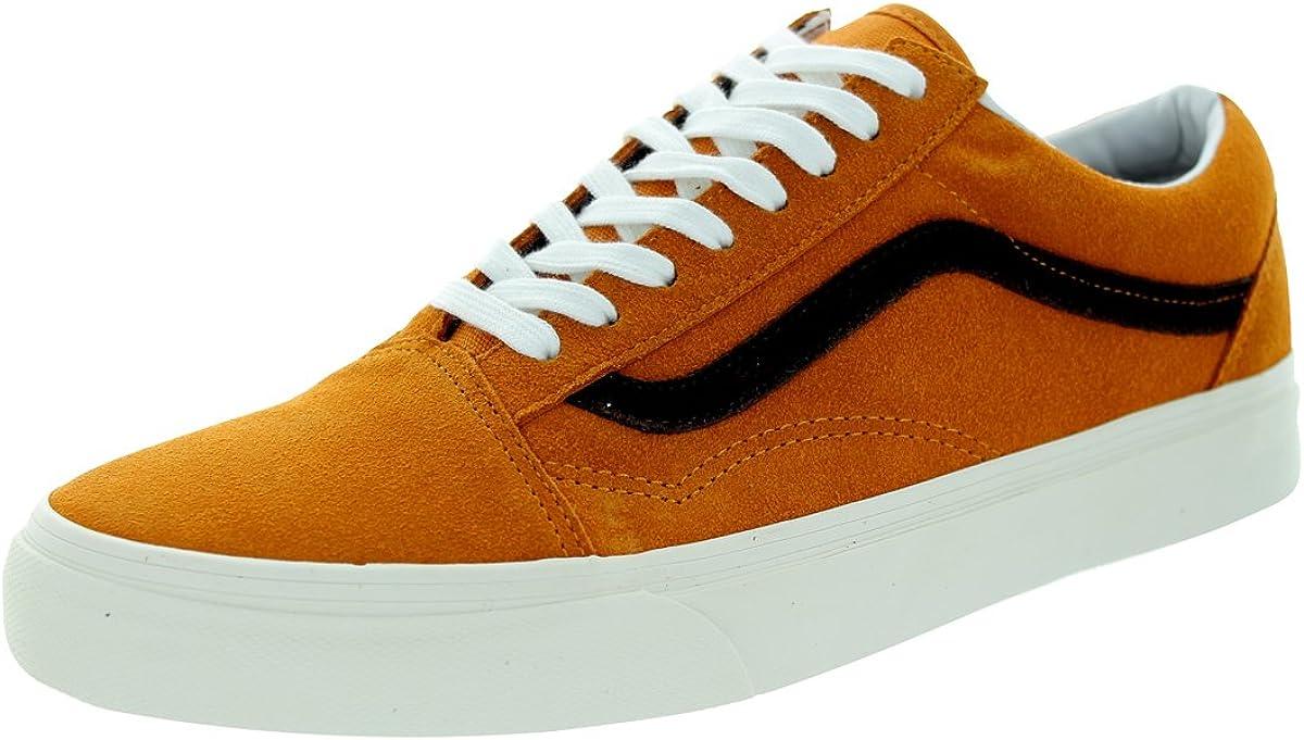 Vans Old Skool, Scarpe da Skateboard Uomo Arancione Vintage Suede ...