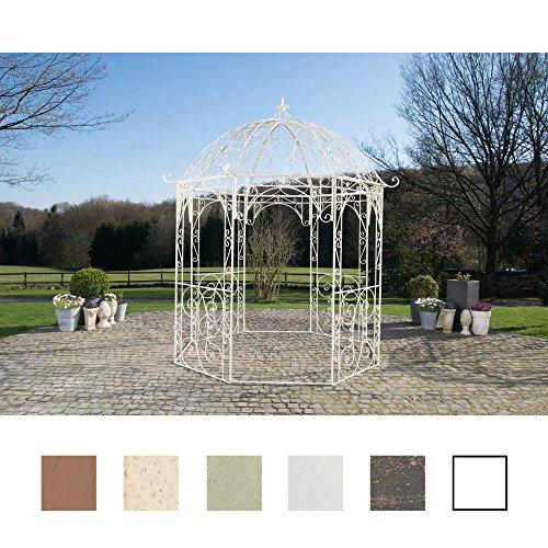 CLP Rosenpavillon Leila aus Eisen mit stilvollen Verzierungen I Rankpavillion aus...