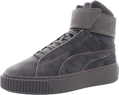 PUMA Women's Platform Mid Velour WNS Sneaker