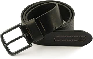 Belt in Leather Pyrmont black Size 1