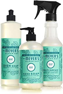 Mrs. Meyers Clean Day Kitchen Basics Set (Mint)