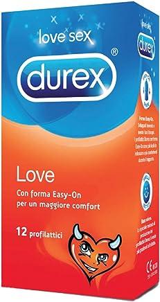 Durex Love Preservativi Comfort Facili da Indossare, 12 Profilattici