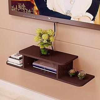 ANTICO WOODENIA® Sterling Set top Box Stand  Wall Shelf  Wall Mount  Wall Bracket  Wall Rack  Wall Mounted Stand  Wall Hol...