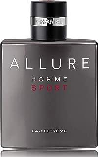 NIB ALLURE HOMME SPORT EAU EXTREME Spray 1.7 oz./ 50 m + Free Sample Gift!