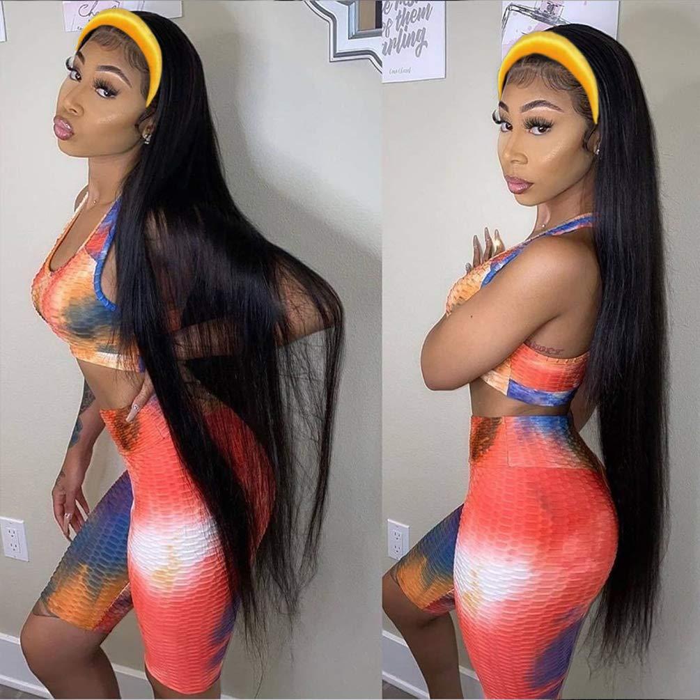 Straight Headband Wigs for Black Max 57% OFF Hair Women Glueless Human Max 82% OFF