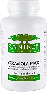 Raintree Formulas Graviola Max 600mg 120 Veg Caps