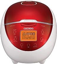 Cuckoo CR-0655F Rice Cooker & Warmer, 6 Cups, LCD-Display 11-Menu Options, Turbo,..