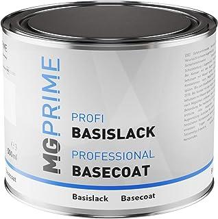 MG PRIME Autolack Dose spritzfertig für BMW 475 Blacksapphire Perlcolor/Saphirschwarz Metallic Basislack 0,5 Liter 500ml