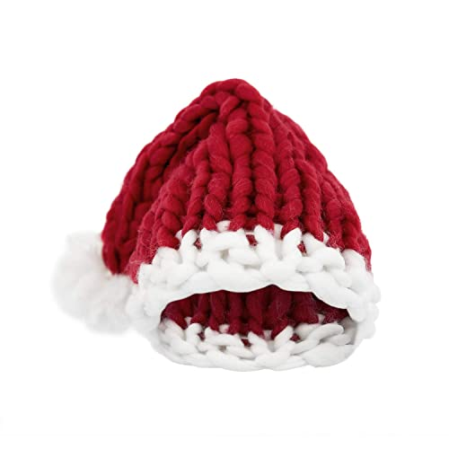 17afd65b7de Elezay Christmas Warm Chunky Slouchy Knit Beanie Santa Hat