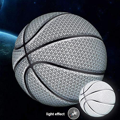 Buy Bargain Light Up Basketball - Inside LED Lights up When Bounced - Glow in The Dark Basketball - ...