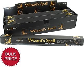 Desconocido Incienso Stick 6 Paquetes (90 varitas de Incienso) Rango de Negro Mágicas del Mago - Stamford