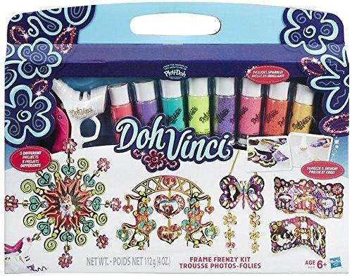 Play Doh Dohvinci Kit Proyectos Decorativos, Multicolor (Hasbro B6376EU4)