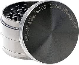 Chromium Crusher Zinc 4 Piece Gunmetal - Herb & Spice Mill/Grinder (2.5