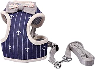 MyfatBOSS Cat Leash, Cat Harness and Leash, Adjustable Pet Mesh Vest Leashes for Small Large Cats Walking Escape Proof (M)