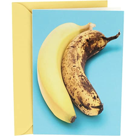 Hallmark Shoebox Funny Birthday Card (Two Bananas)