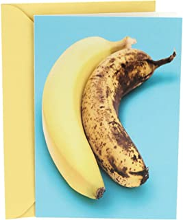 Hallmark Shoebox Funny Birthday Card (Two Bananas)