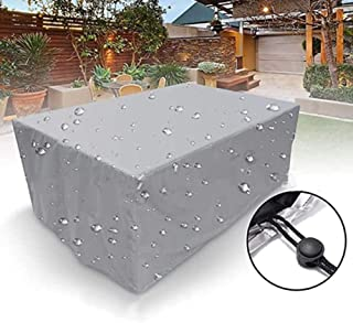 Patio Furniture Covers Outdoor Furniture Cover Waterproof Outdoor Chair Set Cover for Sofa Table Garden Sofa Set Cover Rai...