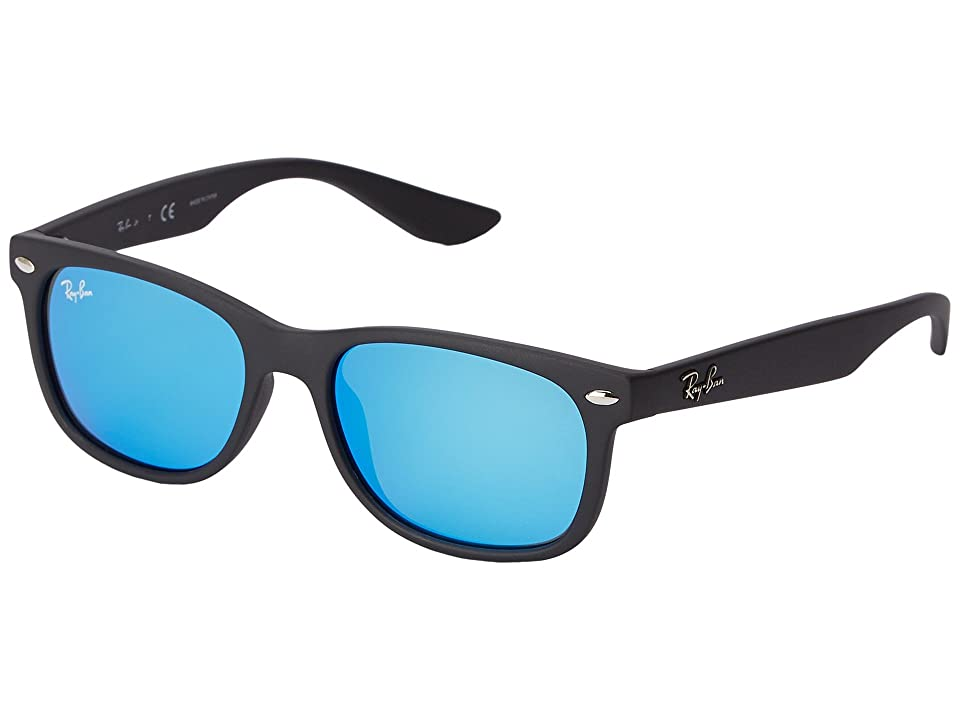 Ray-Ban Junior RJ9052S New Wayfarer 47mm (Youth) (Blue) Fashion Sunglasses