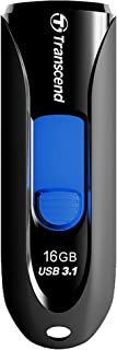 Transcend USBメモリ 16GB USB3.1 & USB 3.0 スライド式 ブラック TS16GJF790KPE (FFP)【Amazon.co.jp限定】