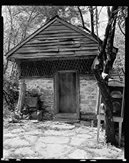 HistoricalFindings Photo: Sherrill Inn,Stone Buildings,Hickory Nut Gap,NC,North Carolina,Architecture,1938 2