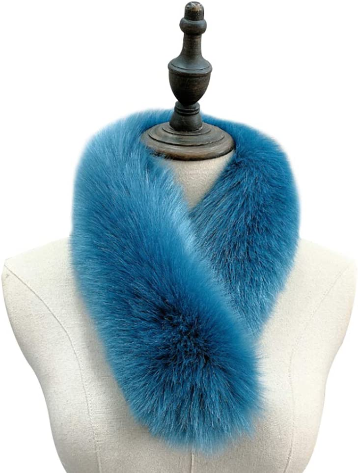 ihreesy Synthetic Fur Scarf Stoles Fox Clip A surprise price is realized Faux with Detroit Mall