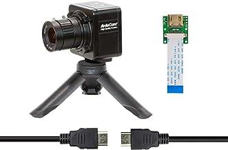 Arducam IMX477 Camera Bundle for Nvidia Jetson Nano/Xavier NX, 12.3MP HQ Camera Module with 6mm CS-Mount Lens, Metal Enclo...