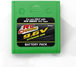 RC CHARGERS Official 9.6 Volt 500 mAH Lithium Ion Rechargeable Battery Pack