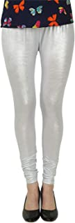 Curves Beauty Women's Shimmer lycra stretchable chudidaar legging