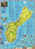 Guam Adventure & Dive Guide Laminated Map Poster