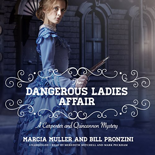 The Dangerous Ladies Affair audiobook cover art