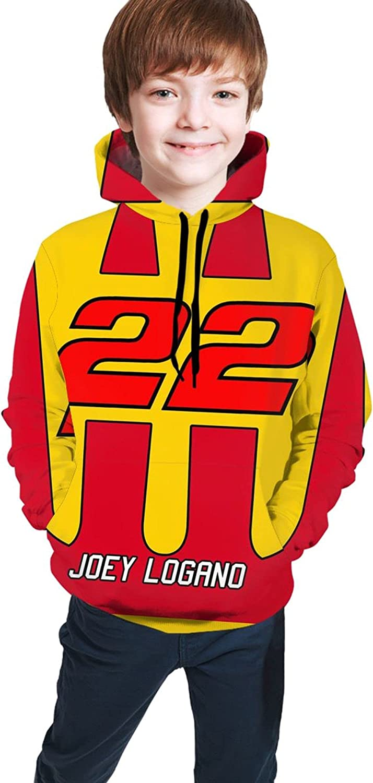 FUPOGEG Joey Logano Teenage Sweater/Hooded Girls And Boys Can Wear Comfortably And Stylishly,14-16 Years