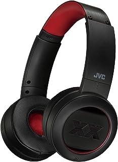 JVC XX Wireless On Ear Headphones, Bluetooth Connectivity, Extreme Deep Bass Ports, Tough Housing Protection & Durable Bod...