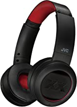 JVC XX Wireless On Ear Headphones, Bluetooth Connectivity, Extreme Deep Bass Ports, Tough Housing Protection & Durable Body, Voice Assitant Compatible, 40 Hours Long Battery Life, AptX - HAXP50BTR