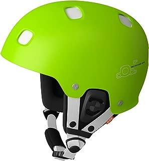 POC Receptor Bug Adjustable Helmet (Green/White, Medium/Large, 55-58)