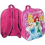 Star Licensing Mochila Princesas Disney bolsa guardería Disney escuela 33 cm – 42940