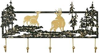 Creative Wall Decoration Coat Rack Clave multifuncional Gancho para la sala de estar Dormitorio Casa Navidad