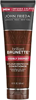 John Frieda Conditioner Brilliant Brunette Deep 8.3 Ounce (245ml) (2 Pack)