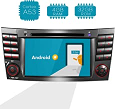 Amaseaudio Upgrade 7 Inch TFT LCD Android 8.0 4GB RAM Car GPS Navigation System Units for Mercedez-Benz E-Class W211/CLS-Class W219 in Dash 2 Din Stereo DVD Player