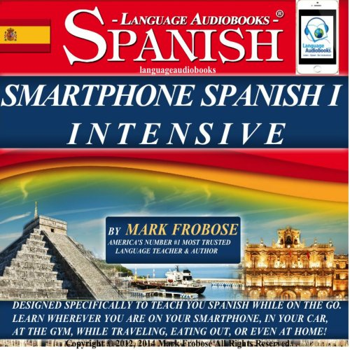 Smartphone Spanish 1 Intensive audiobook cover art