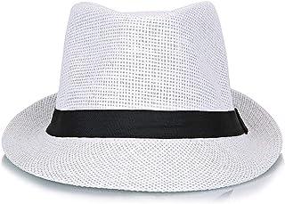 SHENTIANWEI Summer Korean Linen Breathable Refreshing Small hat Travel Travel Partner (Color : White, Size : L58-60cm)