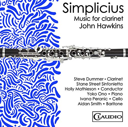 Simplicius-Music for Clarinet By John Hawkins