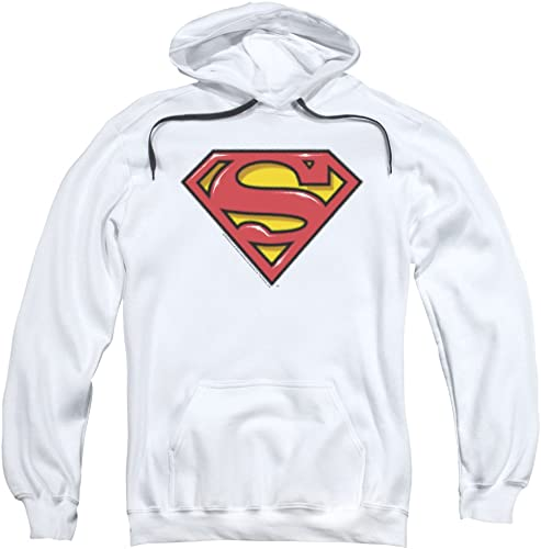 Superhomme - - Sweat à Capuche Airbrush Shield pour Homme