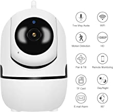 Security Camera Wireless, JOOAN 2.0MP 1080P HD Home Wireless Baby/Pet Baby Monitor Camera with Cloud Storage Two-Way Audio Motion Detection Night Vision Face Sound Detection