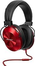 Pioneer Hi-Res Over Ear Headphones, Red SE-MS5T(R)
