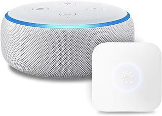 Echo Dot 第3世代 - スマートスピーカー with Alexa、サンドストーン + Nature スマートリモコン Remo mini